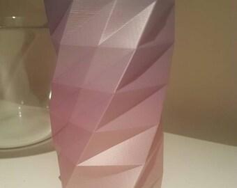 3d printed rainbow vase.
