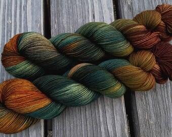 Dragon stone - MAIA, 100% Merino superwash - 400 m / 100 g – hand dyed yarn