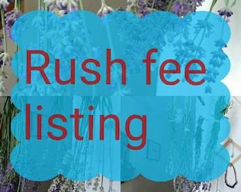 Rush listing