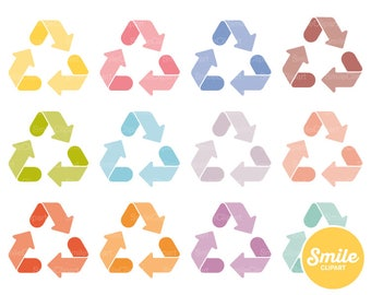 Recycling Clipart Illustration for Commercial Use | 0290