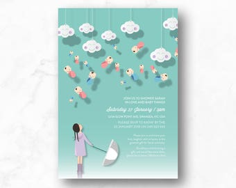 Baby Shower Invitation - ONLY