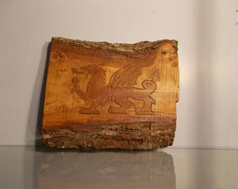 Welsh Dragon Wall Plaque