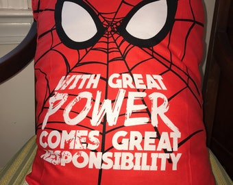 Spiderman Pillow