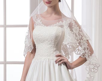 Handmade Wedding Veil ''Vanessa'' On SALE!  20% off with code NYBRIDEJUN