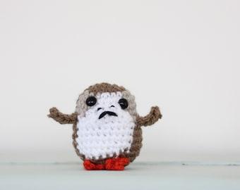 Porg // Star Wars Porg // Porg Toy // Crochet // Amigurumi // Star Wars Last Jedi // Crochet Porg // Star Wars Gift Ideas // Porg Soft Toy