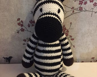 Stuffed Zebra Toy
