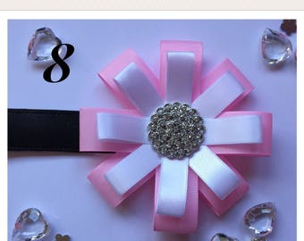 Handmade pram accessory beautiful baby rosette corsage