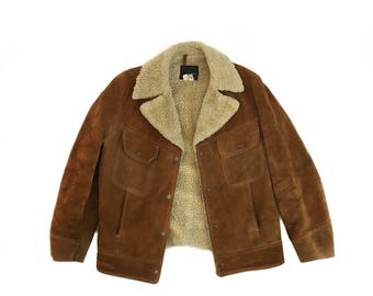 Cozy Suede Sherpa Lined Jacket