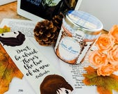 Jamie Fraser Outlander Inspired - Bookish Character Candle