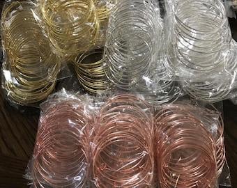 65mm expandable bangle bracelets