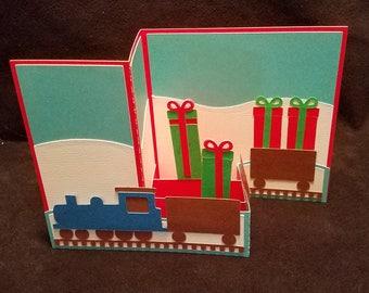 Christmas Train Card