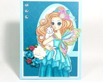 Unique Cat Sympathy Card, Cat Sympathy Card, Unique Pet Sympathy Card, Pet Sympathy Card, Unique Greeting Card, Greeting Card, Unique Card