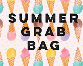 SUMMER GRAB BAGS- 3 chokers included