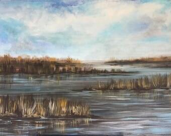 Lousiana Marsh Bayou Landscape