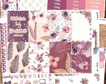 HAPPY PLANNER, Sparkle, Weekly Sticker Kit, MAMBI, Planner Stickers, Sticker Kit