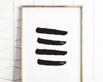 80% OFF brush strokes wall printable, brush strokes wall decor, brusth wall art, paint strokes art, paint strokes printable art
