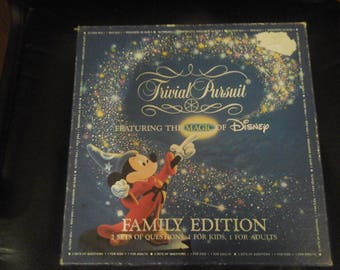 Trivial Pursuit  Family Edition Featuring The Magic of Disney