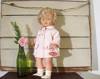 1960s crying doll. 14 inch collector doll in pristine condition Nicaput Wernicke.