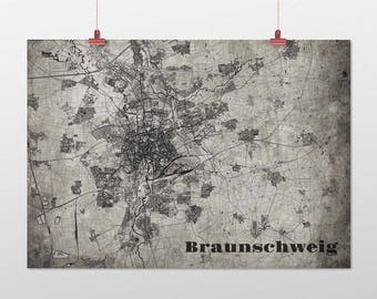 Braunschweig - A4 / A3 - print - OldSchool