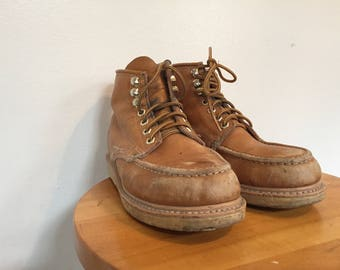 Gorilla Moccasin Light Brown Leather Boots