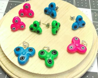 fidget spinner earrings fidget spinner etsy 8638