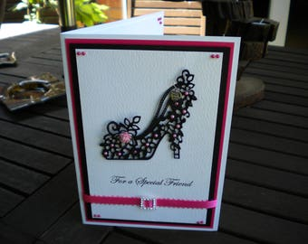Special Friend Birthday Card/Handmade/Personalised