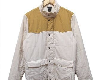 Hot Sale!!! Rare Vintage 90s PATAGONIA Bivy Western Button Jacket Outdoor Hip Hop Skate Swag Men's Small Size