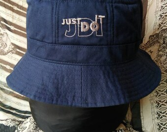 Rare vintage NIKE Just Do It bucket hat , fishing, hunting, street wear hat, outdoor, summer hat
