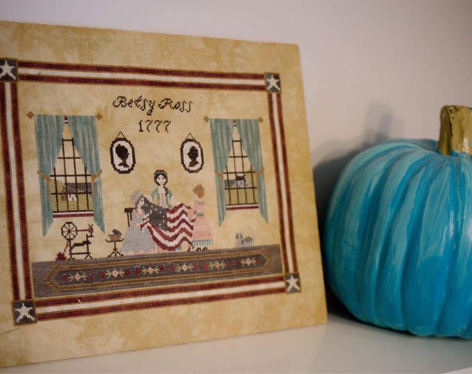 Betsy Ross Cross Stitch Pattern