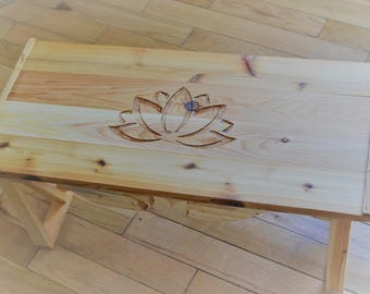 Meditation Altar Table   Lotus 2