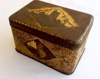 Vintage 1960's Original Sodra Kaffe Tin Box