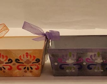 """Composite Gift Baskets """"SOAP DISHES"""" - part of the RANKO (""""Little Orchid"""") collection"""
