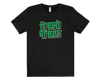 90S Hip Hop Fresh Clothing 001 Hip Hop Tshirt Retro Streetwear Hip Hop Fly Blazed Bling Dope Cool Swag