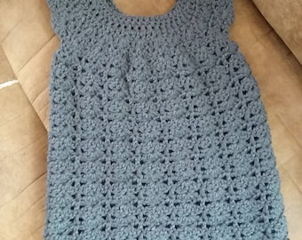 2T-3T shell stitch dress