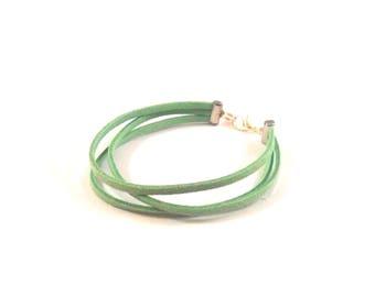 Green Man bracelet
