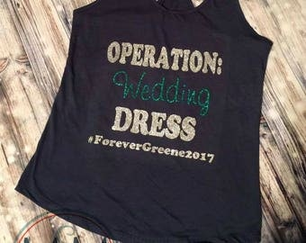 Operation Wedding Dress Tank