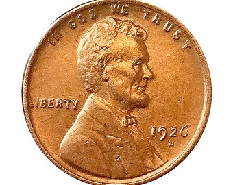 1926 D Lincoln Wheat Cent - Choice BU / MS / Unc