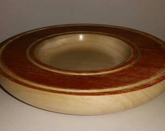 Rustic Dish in American Tulipwood