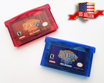 Legend of Zelda - Oracle of Seasons and Ages GBA Edition Custom Gameboy Advance (Enhancement of GBC Version) USA seller