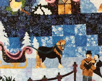 Mount Redoubt Designs The Spirit of Christmas quilting pattern book