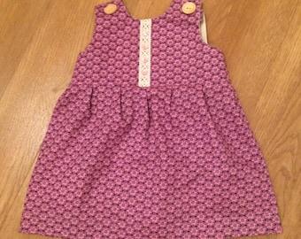 Newborn Baby Girl Handmade Dress