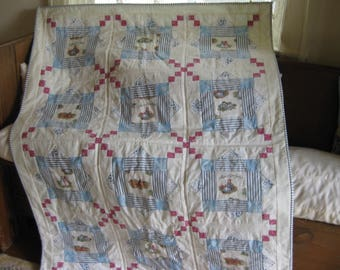 Anne of Green Gables in Blue Quilt