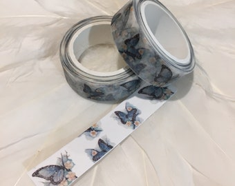BLUE ULYSSES BUTTERFLY Washi tape