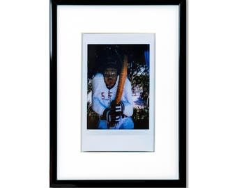 "Fine Art Photography ""Cayuga Park"" Framed Instax Mini Print"