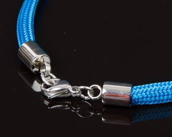 Mounted on stainless steel ends lobster clasp