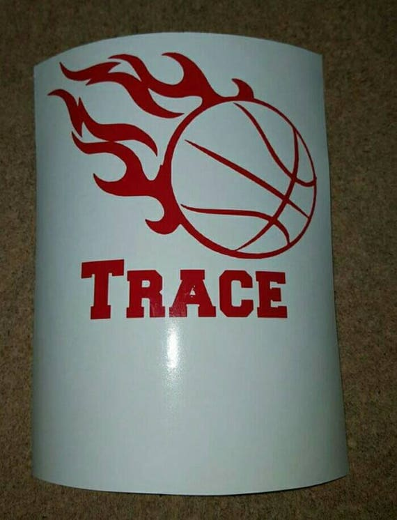 Basketball Vinyl Basketball Car Decal Basketball Window - Team window decals personalized