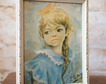 Small 'Thoughts' Framed Print by J Fontanges