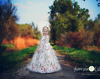 tulle dress, photoprop, 4-6 years old size, occasion dress for photography, photoprops