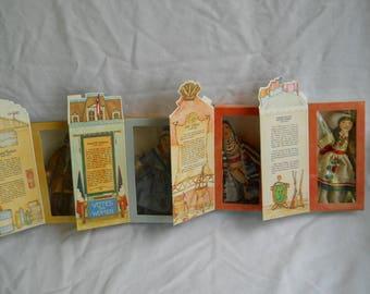 4 Hallmark Collectible Cloth Dolls