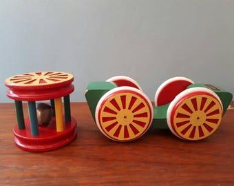 Vintage Brio Pull Along Toy